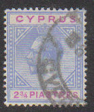 Cyprus Stamps SG 094 1922 Two 3/4 Piastres - USED (d749)