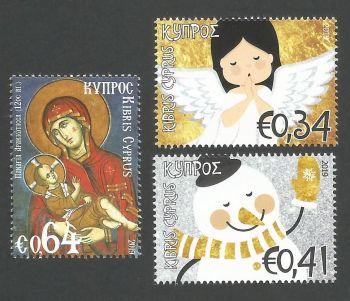 Cyprus Stamps SG 2019 (i) Christmas - MINT