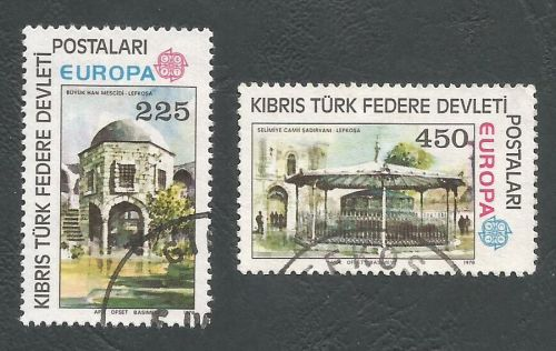 North Cyprus Stamps SG 063-64 1978 Europa - USED (L051)