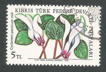 North Cyprus Stamps SG 110 1981 5TL - USED (L070)