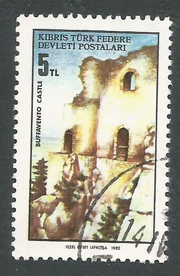 North Cyprus Stamps SG 123 1982 5TL - USED (L077)