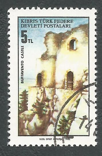 North Cyprus Stamps SG 123 1982 5TL - USED (L078)