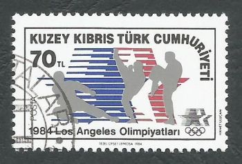North Cyprus Stamps SG 152 1984 70TL - CTO USED (L095)