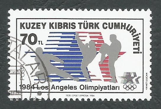 North Cyprus Stamps SG 152 1984 70TL - CTO USED