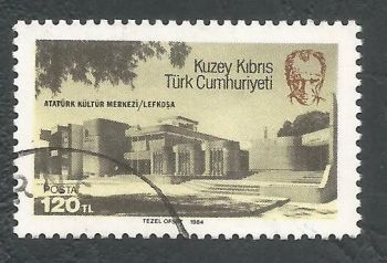 North Cyprus Stamps SG 153 1984 Ataturk Centre - USED (L096)