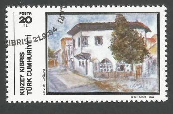 North Cyprus Stamps SG 157 1984 20TL - CTO USED