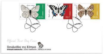 Butterflies of Cyprus FDC sample