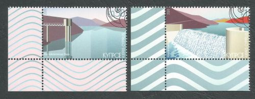 Cyprus Stamps SG 2020 (b) Water reservoirs - CTO USED (L134)