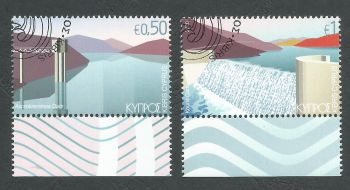 Cyprus Stamps SG 2020 (b) Water reservoirs - CTO USED (L133)