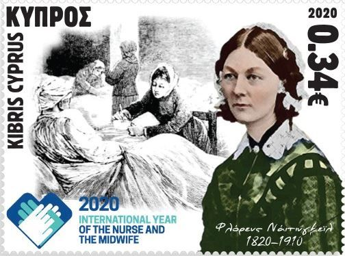 Cyprus Stamps 2020 World Year of Midwifery