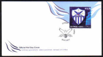 Cyprus Stamps SG 1237 2011 Centenary of the founding of Anorthosis Famagusta Athletic and Cultural Club - Official FDC