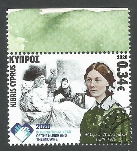Cyprus Stamps SG 2020 (f) International year of the Nurse and Midwife and 2