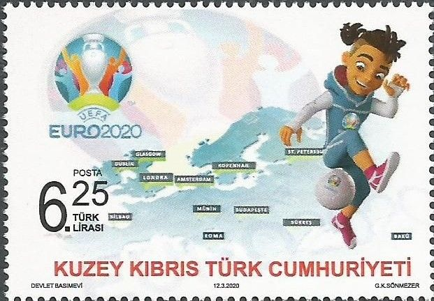 North Cyprus Stamps 2020 stamp issues