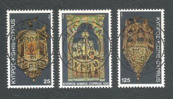 Cyprus Stamps SG 564-66 1980 Christmas - CTO USED (L197)