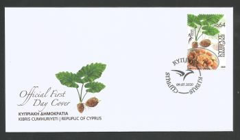 Cyprus Stamps SG 2020 (h) Euromed Traditional Gastronomy in the Mediterranean - Official FDC