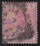 Cyprus Stamps SG 018 1883 One 1 Piastre - USED (g202)