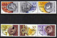 Cyprus Stamps SG 1038-43 2002 Europhilex - MINT