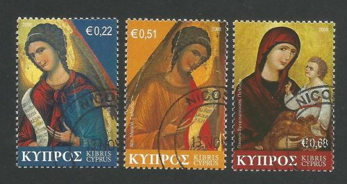 Cyprus Stamps SG 1178-80 2008 Christmas - CTO USED (L266)