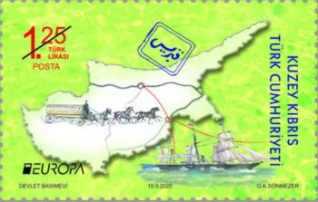 North Cyprus stamps 2020 - Ancient Travel Routes 1.25TL