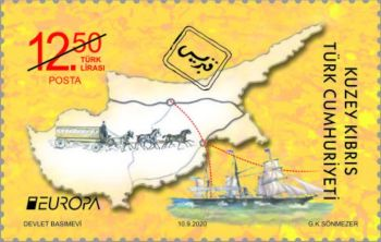 North Cyprus stamps 2020 - Ancient Travel Routes 12.50TL