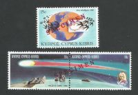 Cyprus Stamps SG 686-88 1986 Anniversaries and events - Specimen MLH