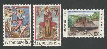 Cyprus Stamps SG 416-18 1973 Christmas - USED (L295)