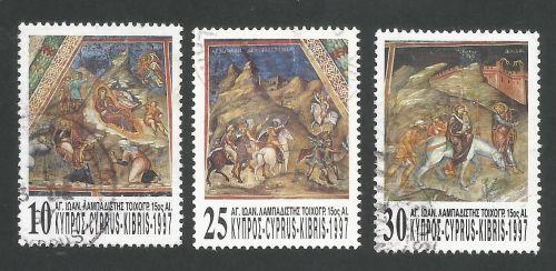 Cyprus Stamps SG 931-33 1997 Christmas - USED (L345)