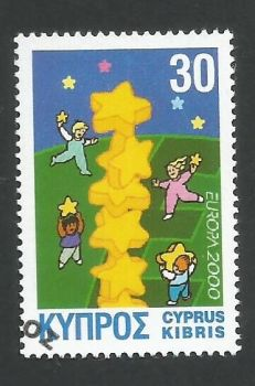 Cyprus Stamps SG 0996 2000 Europa 2000 - USED (L348)