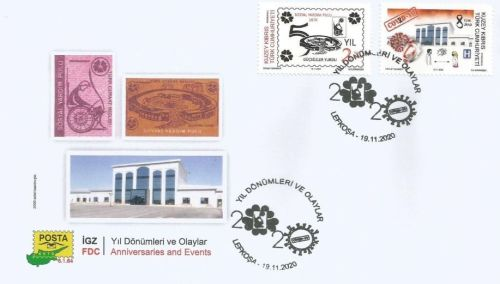 North Cyprus Stamps SG 2020 Anniversaries and Events FDC - 50th Year of the