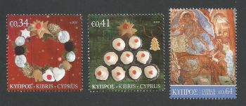 Cyprus Stamps SG 2020 (j) Christmas - MINT