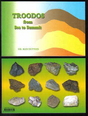 Troodos From Sea to Summit - front & back book cover images