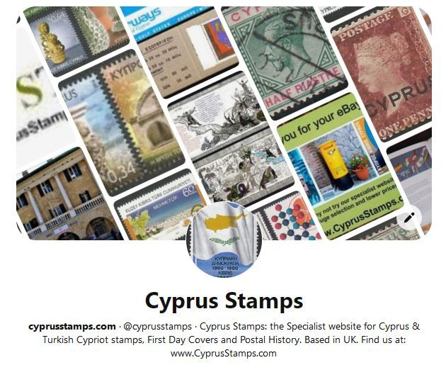Cyprus Stamps on Pinterest