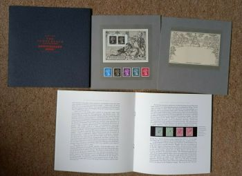 British Stamps 1990 1840 - 1990 The Penny Black Anniversary Book with stamps (P325)