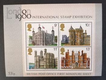 British Stamps 1980 1058 MS  International Stamp Exhibition - MINT (P352)