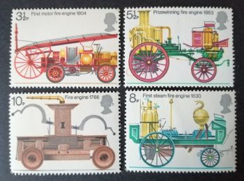 British Stamps 1974 SG 954-97 Fire Prevention Engine - MINT (P365))