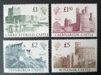 British Stamps 1988 SG 1410-13 Castles - MINT (P366)