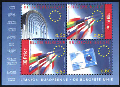 Belgium 2004 Mini Sheet - MINT (d810)