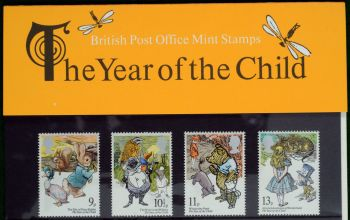 British Stamps SG 1091-94 1979 Presentation Pack 110 The Year of the Child