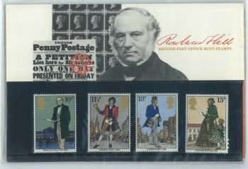 British Stamps SG 1095-98 1979 Presentation Pack 111  Sir Rowland Hill