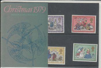 British Stamps SG 1104-08 1979 Presentation Pack 113 SG 1104-08 Christmas