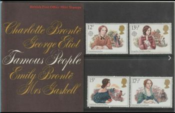 British Stamps SG 1125-28 1980 Presentation Pack 119 Famous People