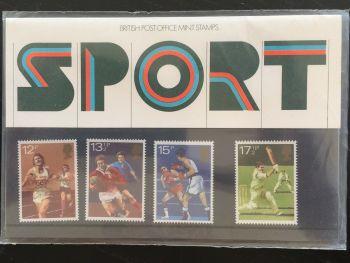 British Stamps SG 1134-37 1980 Presentation Pack 121 Sport