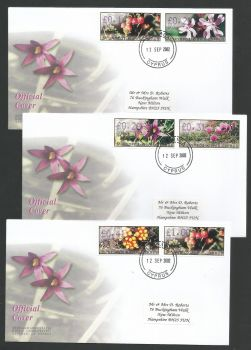 Cyprus Stamps Vending Machine Labels Type E 2002 (007) Larnaka - Official FDC  (L588)