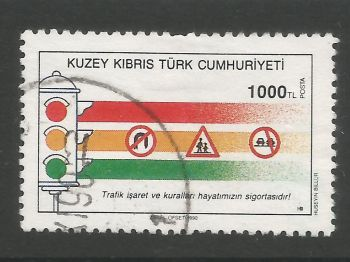 North Cyprus Stamps SG 291 1990 1000 TL - USED (L700)