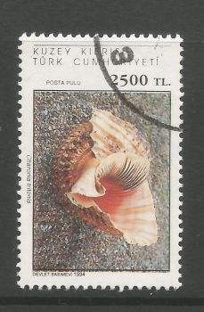 North Cyprus Stamps SG 385 1994 2500 TL - USED (L719)