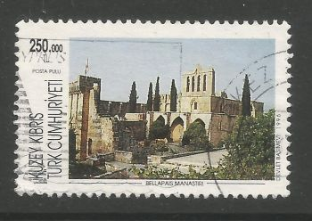 North Cyprus Stamps SG 424 1996 250,000 TL - USED (L721)