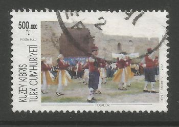 North Cyprus Stamps SG 425 1996 500,000 TL - USED (L722)