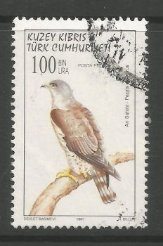 North Cyprus Stamps SG 450 1997 100,000 TL - USED (L730)