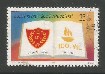 North Cyprus Stamps SG 455 1997 25,000 TL - USED (L733)