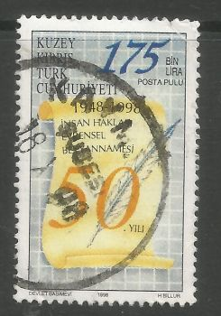 North Cyprus Stamps SG 484 1998 175,000 TL - USED (L737)